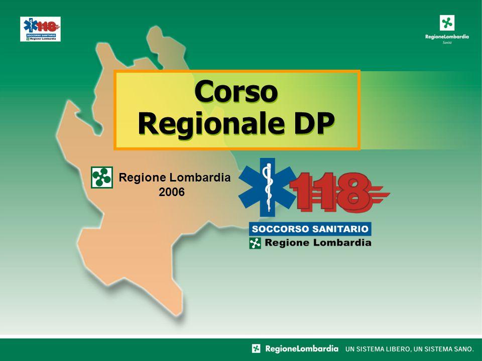 Corso Regionale DP Regione Lombardia 2006