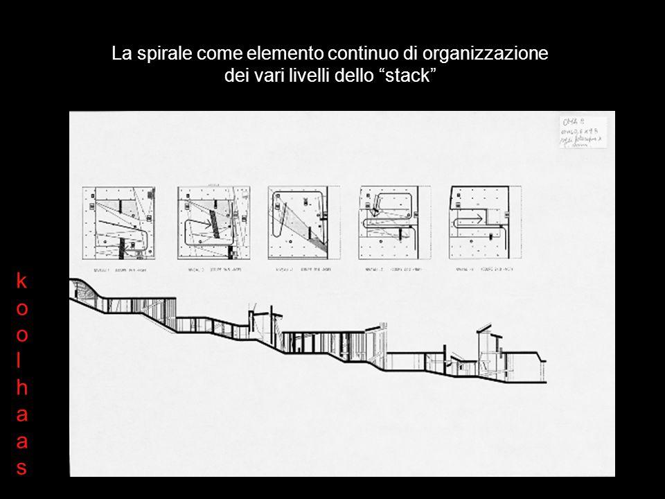 La griglia e elemento di comunicazione oltre essere elemento strutturale Grid koolhaaskoolhaas
