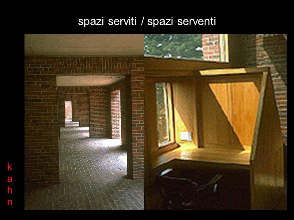 spazi serviti / spazi serventi kahnkahn
