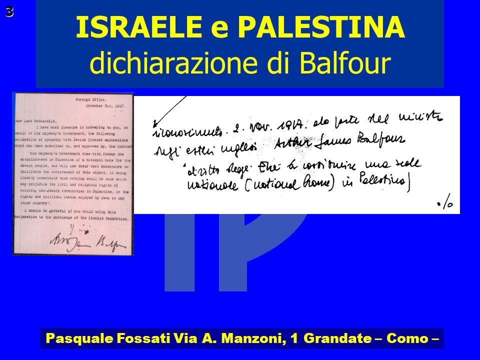Pasquale Fossati Via A. Manzoni, 1 Grandate – Como – ISRAELE e PALESTINA 24 La 1ª Intifada