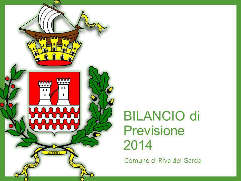 BILANCIO di Previsione 2014 Comune di Riva del Garda