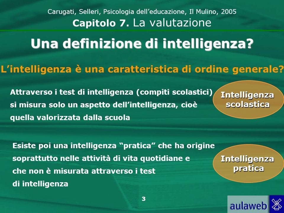 4 Carugati, Selleri, Psicologia delleducazione, Il Mulino, 2005 Capitolo 7.