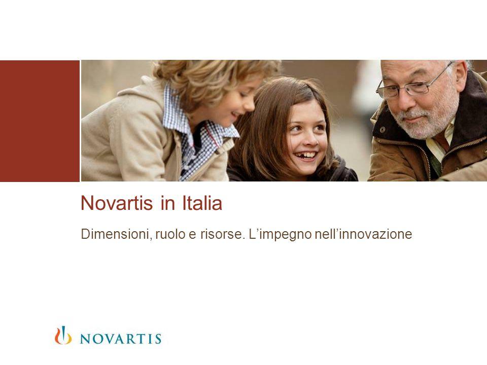 Chi è Novartis Dati 2012 Novartis è azienda leader, a livello globale, nellarea della Salute Novartis ha sede a Basilea ed è presente in oltre 140 paesi 2012, Gruppo Novartis Fatturato56,7 miliardi di dollari Investimenti R&S9,3 miliardi di dollari Dipendenti128.000 1