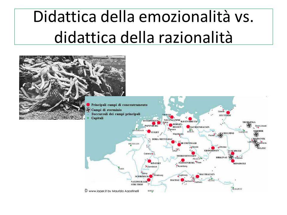 Didattica della emozionalità vs. didattica della razionalità
