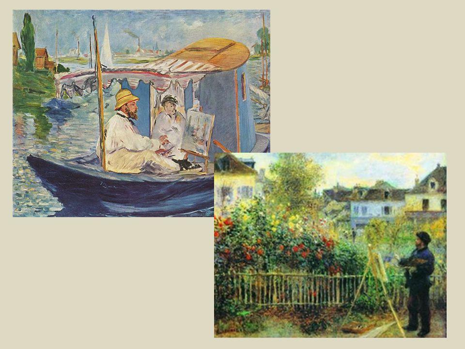 I soggetti delle loro opere sono la NATURA e le scene di VITA DELLA CLASSE BORGHESE.