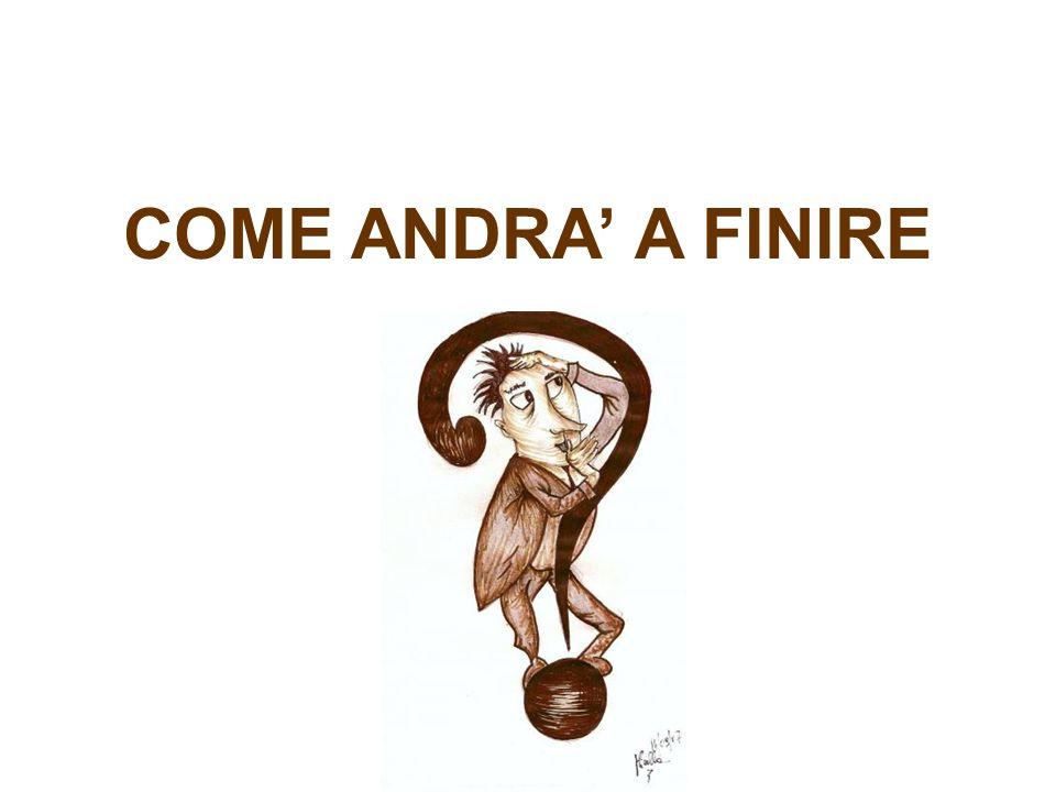 COME ANDRA A FINIRE