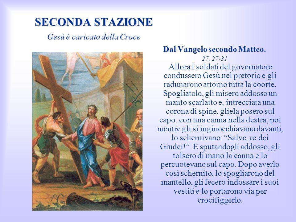Dal Vangelo secondo Matteo.