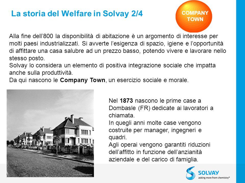 © 2013 Solvay Specialty Polymers 5 Alla fine dell800 la disponibilità di abitazione è un argomento di interesse per molti paesi industrializzati.
