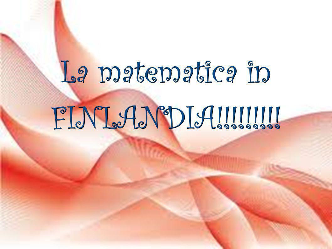 La matematica in FINLANDIA!!!!!!!!!