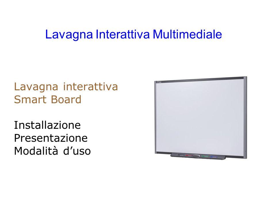 Lavagna interattiva Smart Board Installazione Presentazione Modalità duso Lavagna Interattiva Multimediale