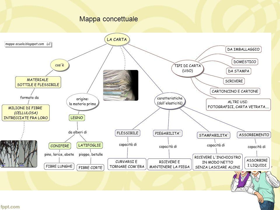 La carta è formata da materiale fibroso per la maggior parte di origine vegetale (piante, alberi, ecc...), anche se può contenere altri elementi aggiu