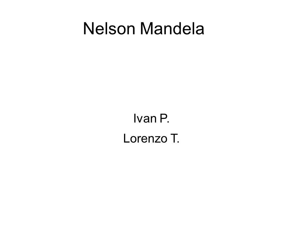 Prima della prigionia L Anc è messo al bando, Nelson Mandela sceglie la lotta armata.