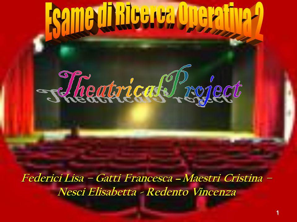 1 Federici Lisa – Gatti Francesca – Maestri Cristina – Nesci Elisabetta - Redento Vincenza