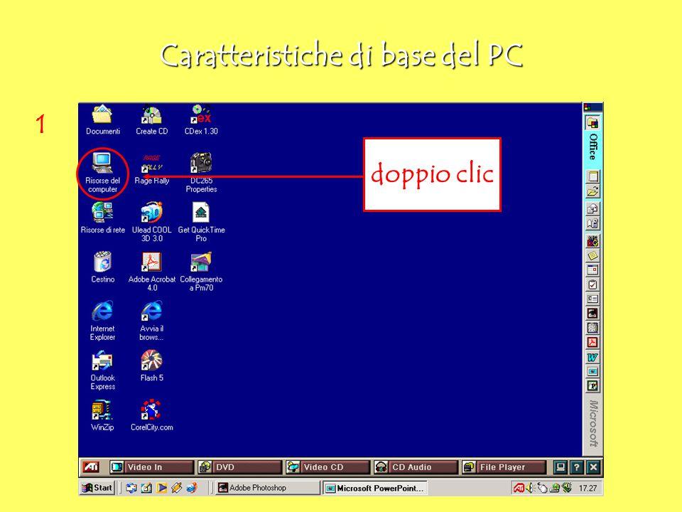 2 Caratteristiche di base del PC doppio clic