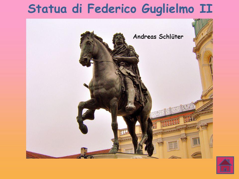 Statua di Federico Guglielmo II Andreas Schlüter