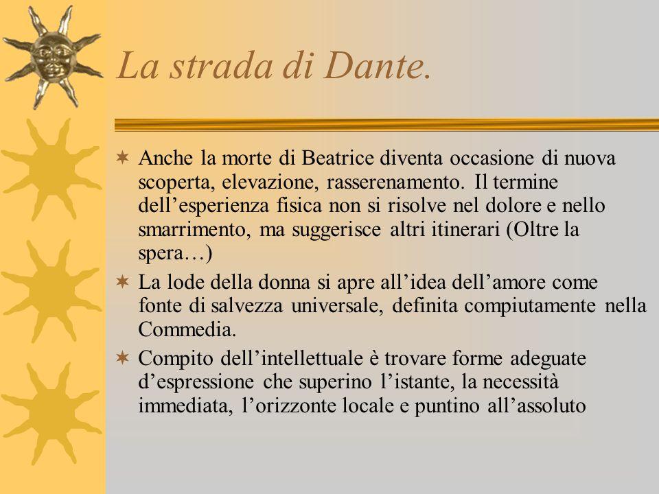 La strada di Dante.