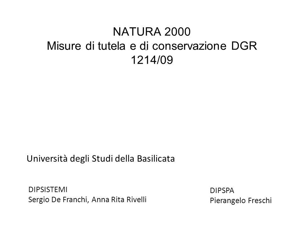Area Sito CodiceIntensità% Area SitoInfluenza 1 Grotticelle 140A60negativa 2 Abetina L.