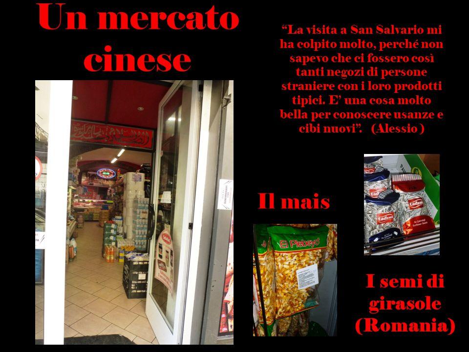 """""""La visita a San Salvario mi ha colpito molto, perché non sapevo che ci fossero così tanti negozi di persone straniere con i loro prodotti tipici. E'"""