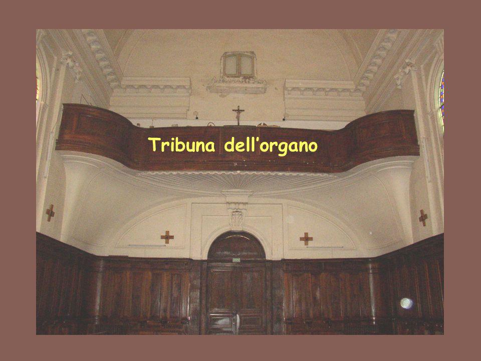Porta di comunicazione tra la sala di S.Stanislao e la camera della Santa Madre.