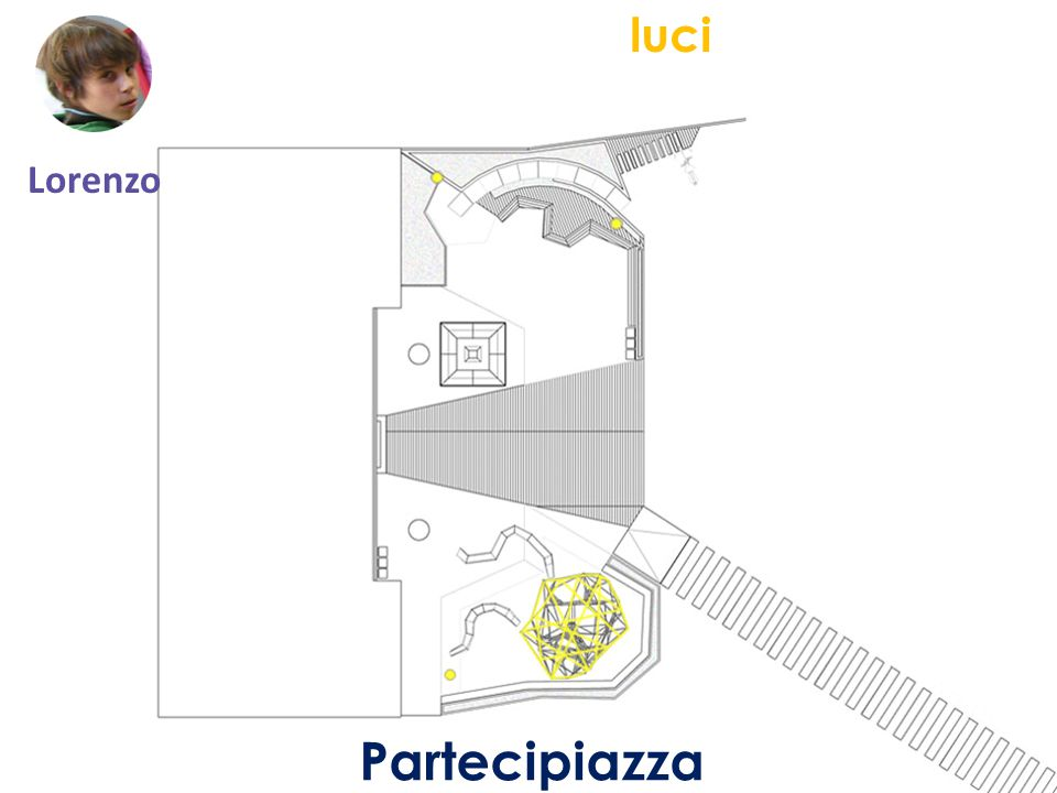 Partecipiazza luci Lorenzo