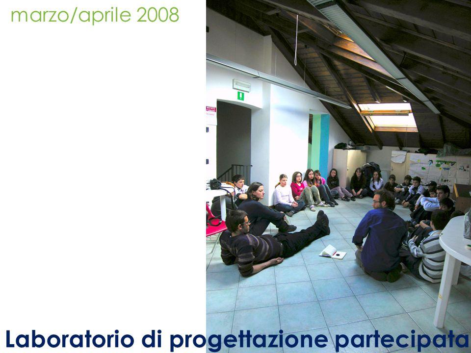 marzo/aprile 2008 Laboratorio di progettazione partecipata