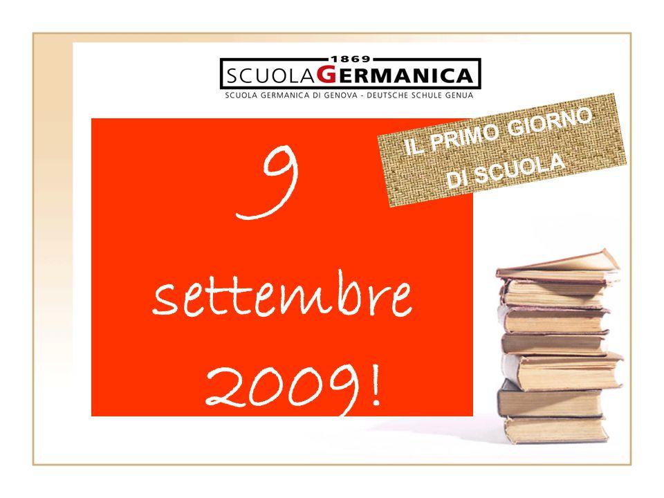 9 settembre 2009! IL PRIMO GIORNO DI SCUOLA