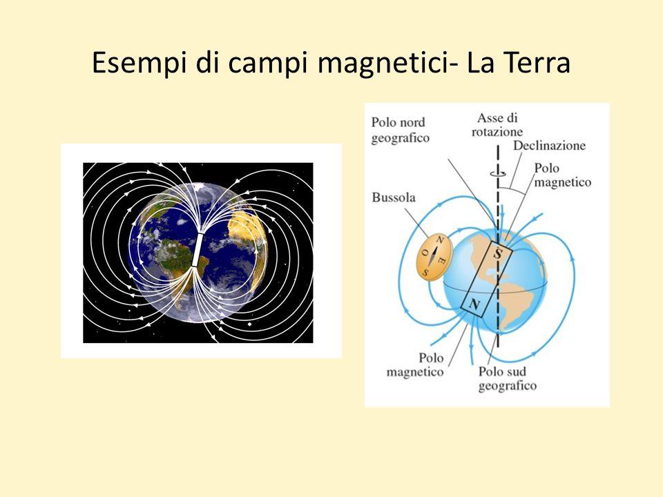 Esempi di campi magnetici- La Terra