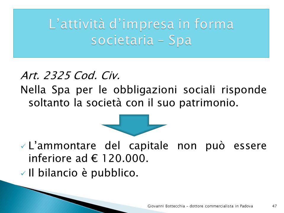 47Giovanni Bottecchia – dottore commercialista in Padova Art.