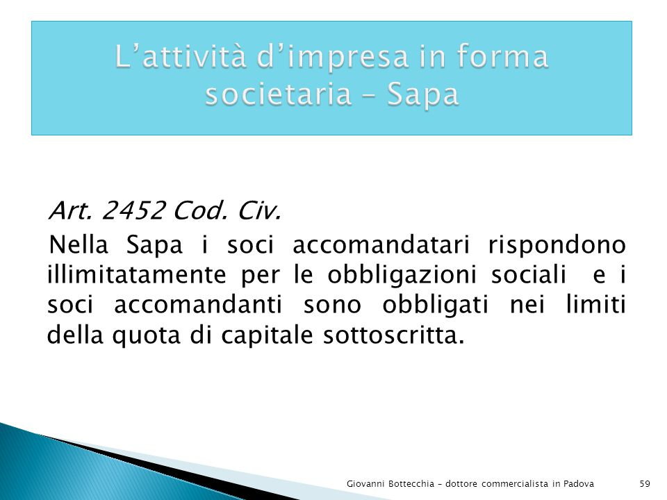 59Giovanni Bottecchia – dottore commercialista in Padova Art.