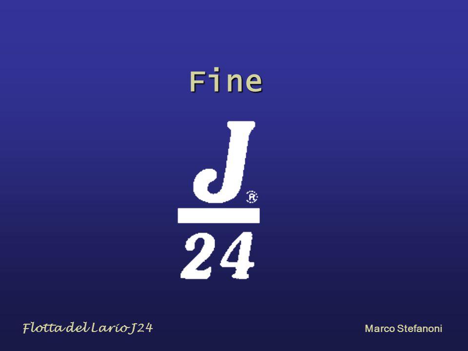 Fine …………………………………. Flotta del Lario J24 Marco Stefanoni