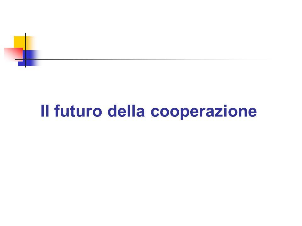 Il futuro della cooperazione