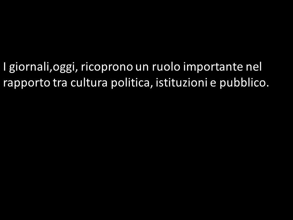 La storia dei giornali italiani affonda le radici nel periodo risorgimentale.