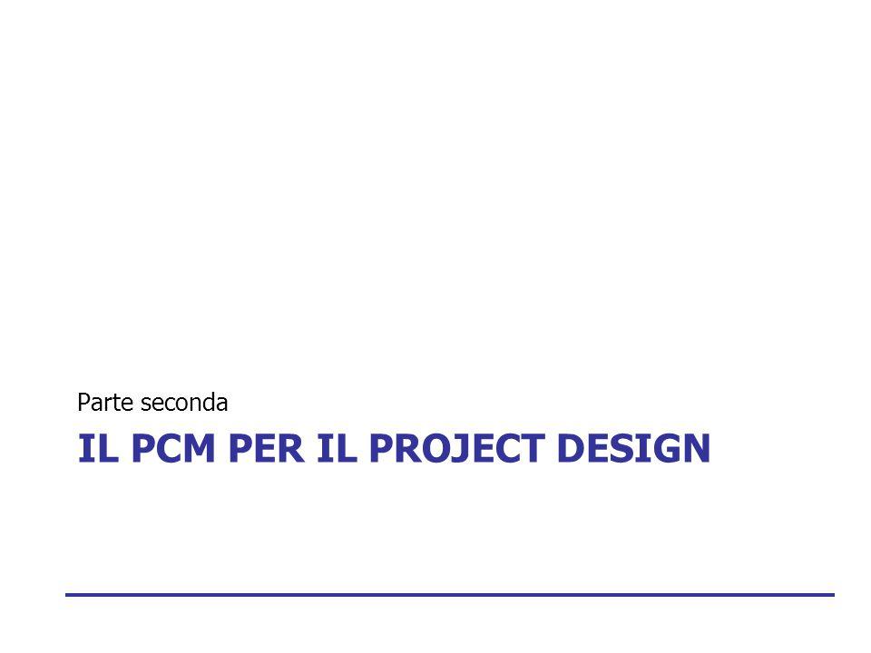 IL PCM PER IL PROJECT DESIGN Parte seconda