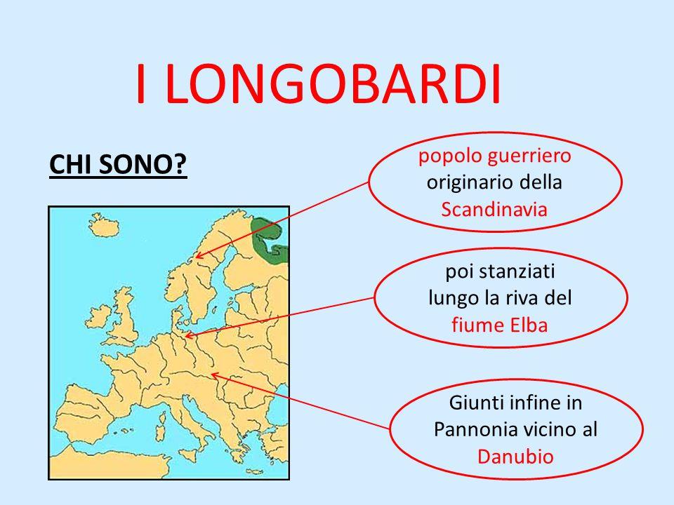 COSA FECERO? Guidati dal re Alboino Invasero l'Italia nel 568