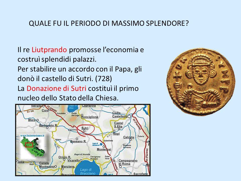 QUALE FU IL PERIODO DI MASSIMO SPLENDORE.