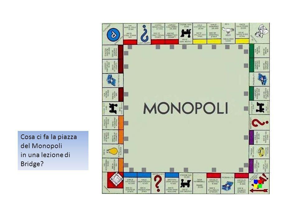 Cosa ci fa la piazza del Monopoli in una lezione di Bridge