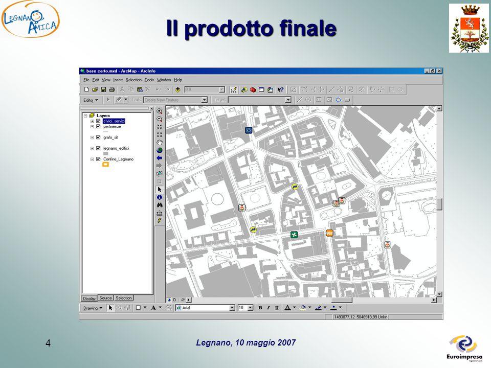 Legnano, 10 maggio 2007 5 Obiettivo 2: sperimentazione e integrazione Sit L'output di progetto si avvarrà del SIT e sarà fruibile attraverso due canali: WEB GIS WEB