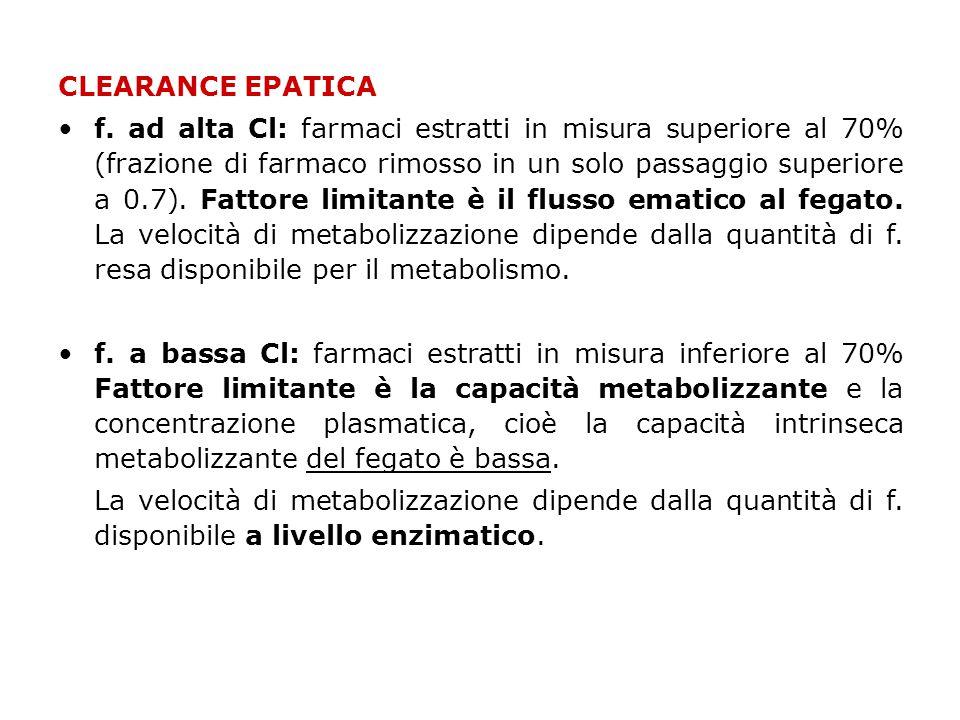 CLEARANCE EPATICA •f.