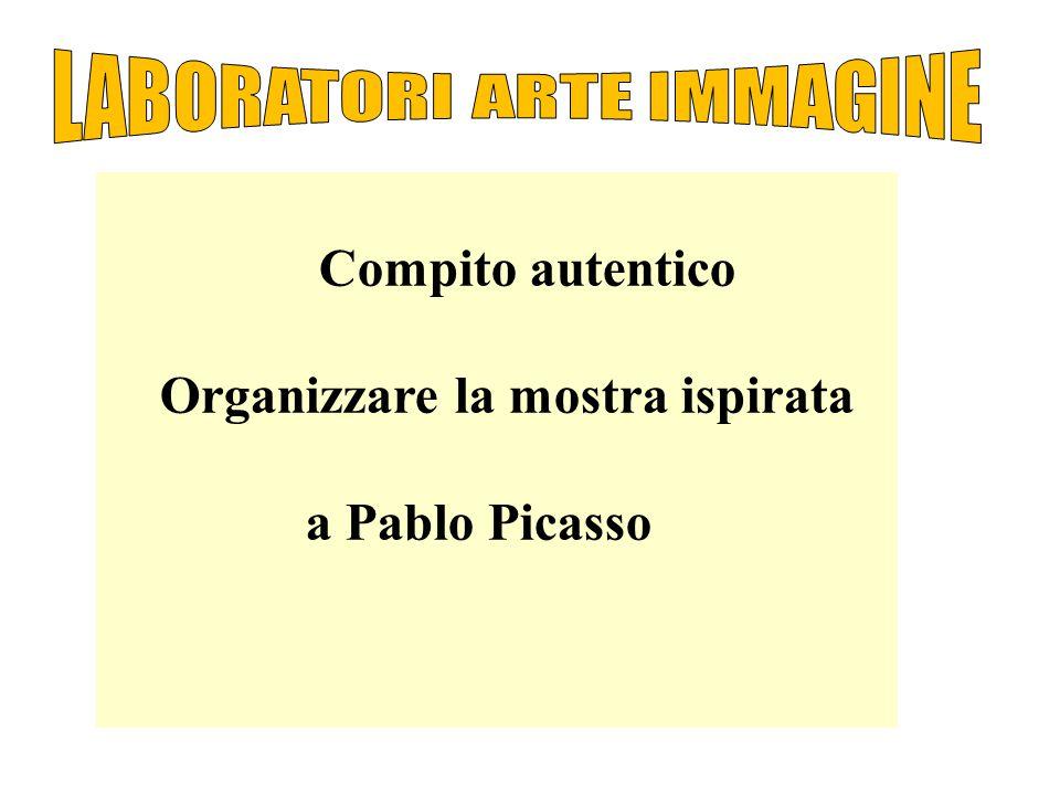 Compito autentico Organizzare la mostra ispirata a Pablo Picasso