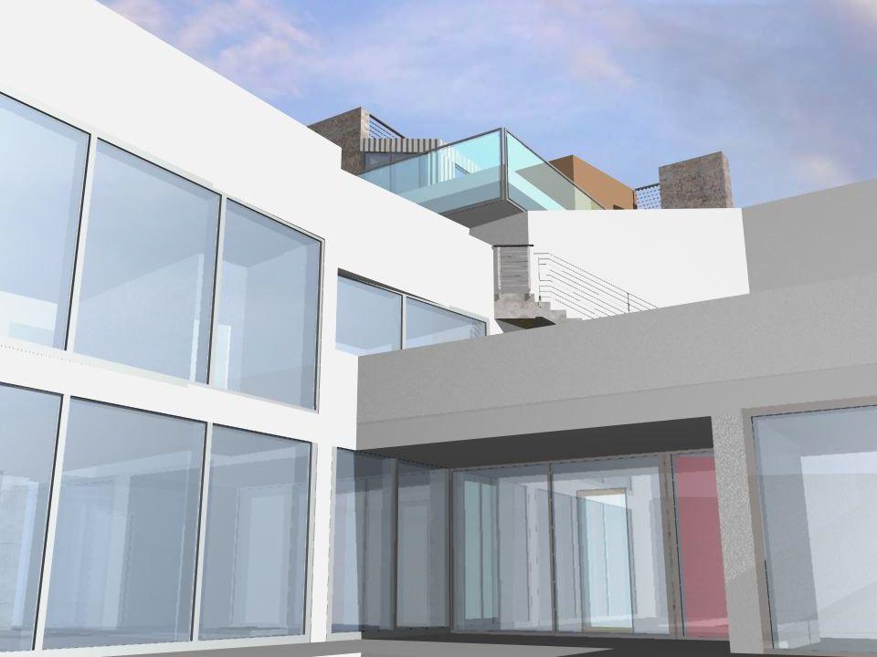 Scala Santa progetto per tre ville unifamiliari a basso consumo energetico HOLY STAIR studio di architettura arch. graziella bloccari via del monte 21