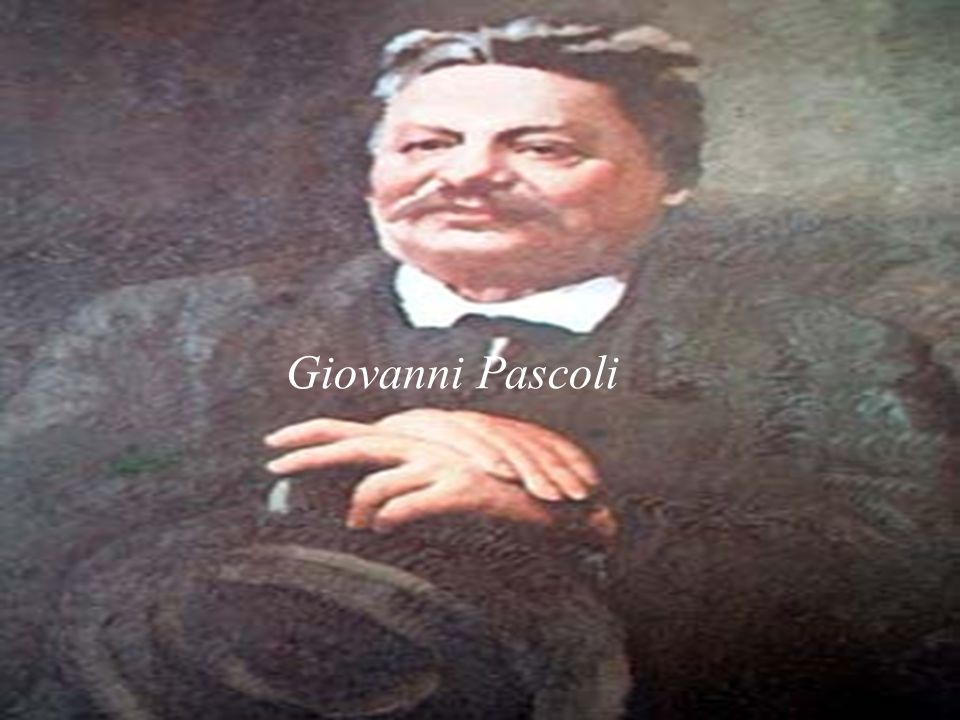 La vita di Giovanni Pascoli Giovanni Pascoli nacque a San Mauro di Romagna nel 1855.