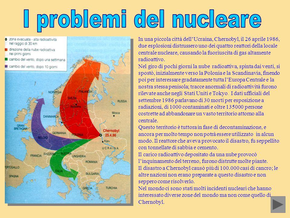 In una piccola città dell'Ucraina, Chernobyl, il 26 aprile 1986, due esplosioni distrussero uno dei quattro reattori della locale centrale nucleare, c