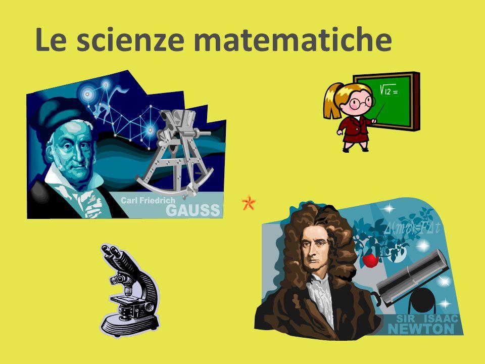 Le scienze matematiche
