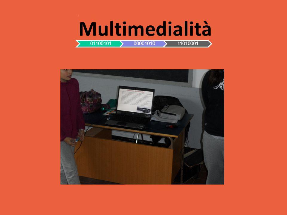 Multimedialità 011001010000101011010001