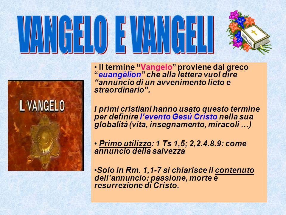 •Se ci fossero solo convergenze, con divergenze minime, avremmo non tre testi ma tre copie d in unico testo.