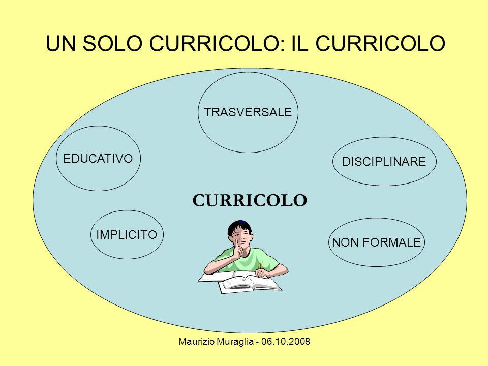 Maurizio Muraglia - 06.10.2008 TRE ASSI DI RICERCA SAPERI RELAZIONALITA ' MEDIAZIONE DIDATTICA