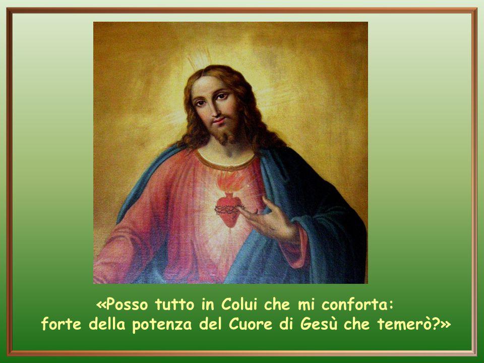 La contemplazione del Cuore di Cristo e del suo Amore è stata sempre la sua forza, il suo sostegno anche in questa casa dove lo pregava davanti a ques