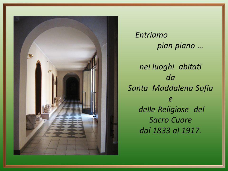 La presenza delle religiose del Sacro Cuore a ''Santa Rufina'' fu determinata dal desiderio di Santa Maddalena Sofia Barat di avere una casa di novizi