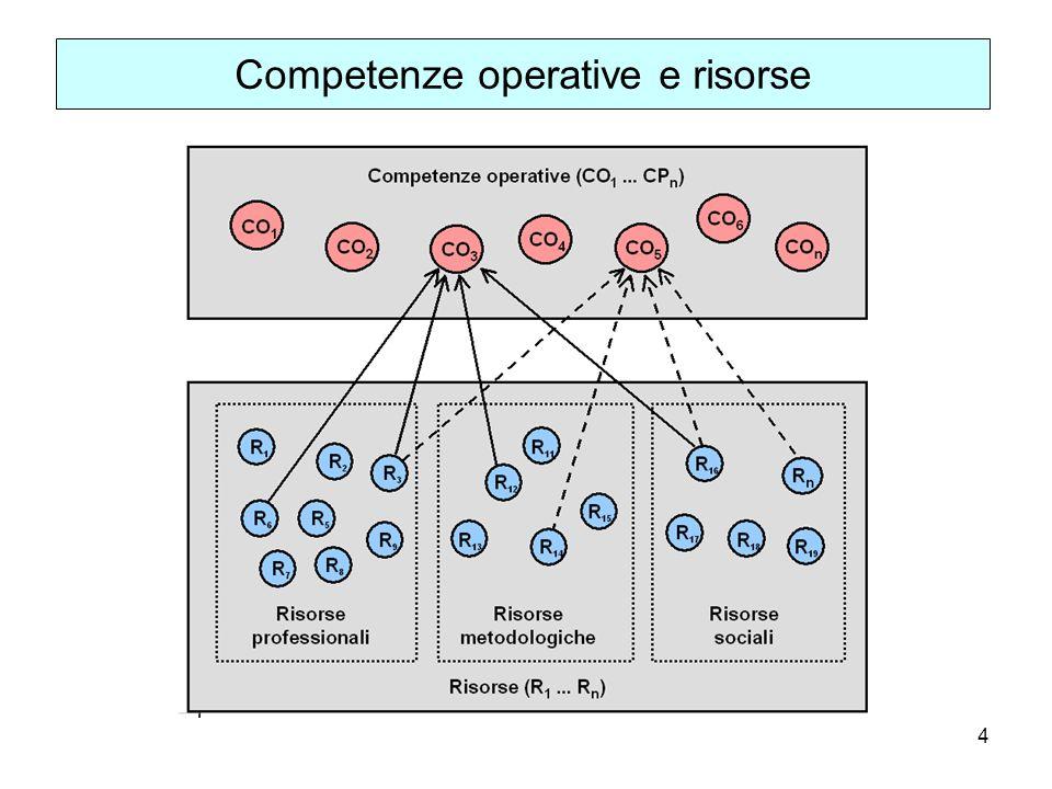 4 Competenze operative e risorse