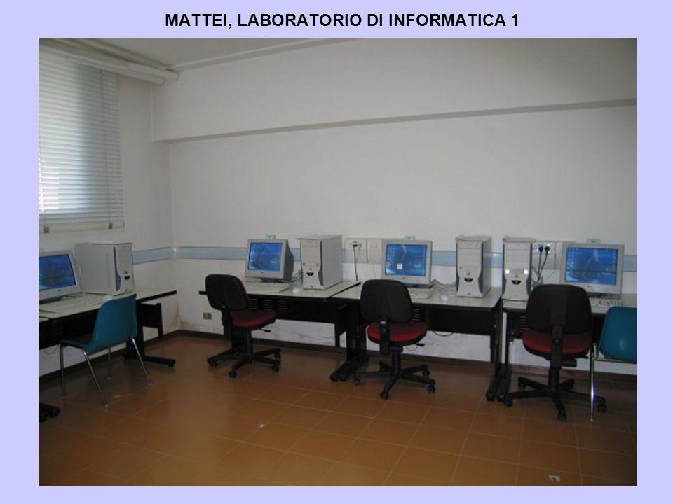 MATTEI, LABORATORIO DI INFORMATICA 1